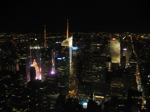 Empire State Building at night: One of the most romantic views in the country... no matter which coast you live on