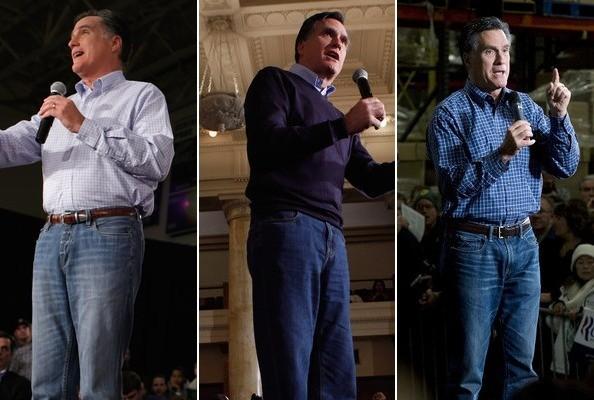 Mitt Romney - mom jeans